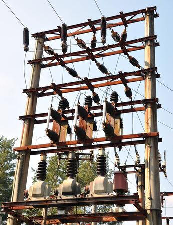 powerline: powerline high voltage