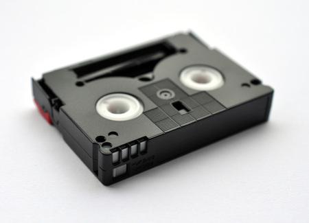videotape: plastic videotape Stock Photo