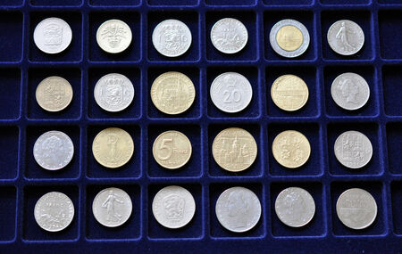industrial heritage: coin Collection