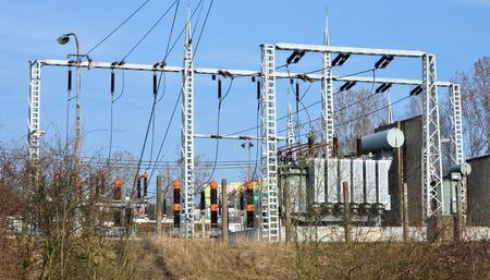 transformatoren en hoogspanningsstations