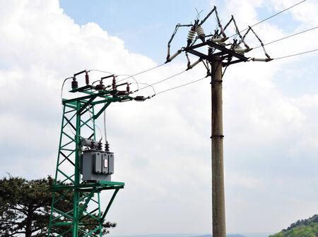 transformatoren en distributie van elektriciteit van hoge spanning