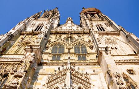 regensburg:  Cathedral in Regensburg, Bavaria, Germany, Europe