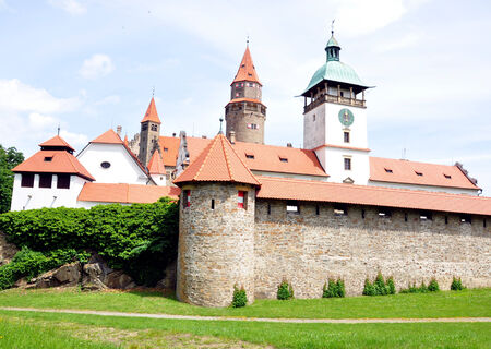 Castle Bouzov, Moravia, Czech Republic, Europe photo