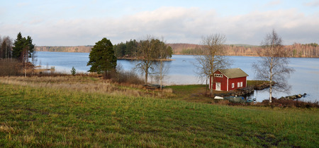 landscape in Sweden, Scandinavia, Europe