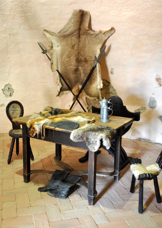 historically: old table and historically pitcher
