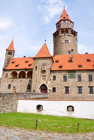 Castle Bouzov in Moravia, Czech Republic