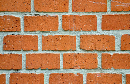 detailed view: Detailed view of a brick wall
