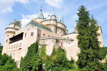 castles needle: Bojnice Castle, Slovakia, Europe Editorial