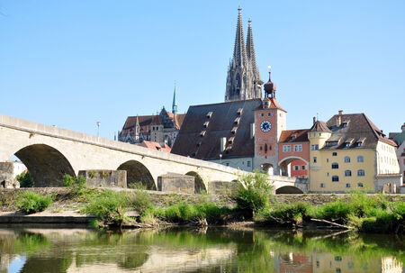 regensburg: Regensburg, Bavaria, Germany, Europe