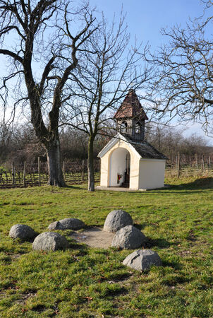 stein: Chapel of the Holy Places, Heiliger Stein, Austria, Europe Stock Photo