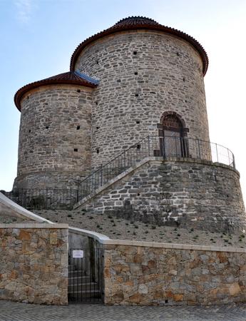 Romanesque rotunda, the town of Znojmo, Czech Republic, Europe