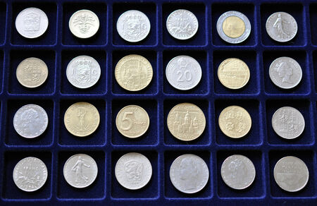 numismatic: old numismatic coin collections