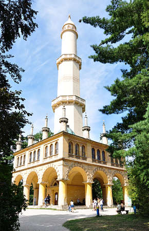 czech republic: minaret, Czech Republic, Europe