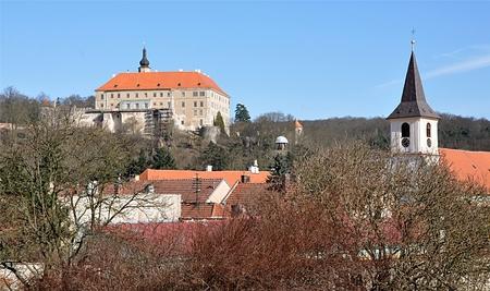 nad: Castle, Namest nad Oslavou, Czech Republic, Europe Editorial
