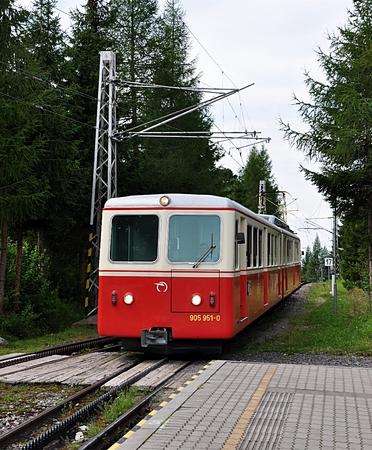 Bergspoorweg, Slowakije, Europa