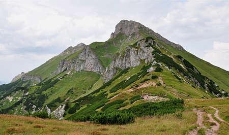 tatry: mountains Belianske Tatry, Slovakia, Europe