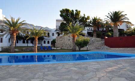 swimm: hotel and swimming pool, Greece, Europe