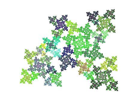 apophysis: fractal - modern background