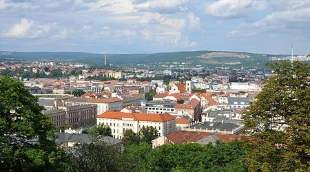 Cityscapes Brno, Czech Republic, Moravia, Europe
