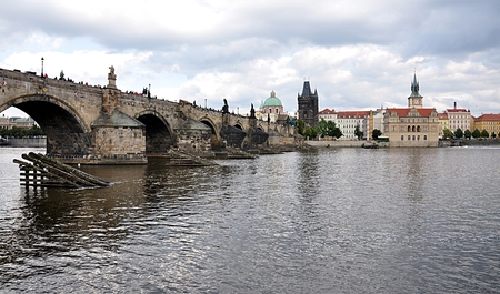 Charles Bridge, Prague, Czech Republic, Europe photo