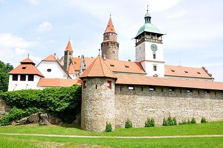 czech republic: Bouzov Castle, Czech Republic, Europe Editorial