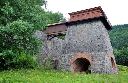 smelter: View of the old smelter, Adamov, Czech Republic, Europe