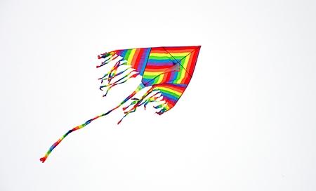 paper kites: colored kite