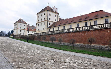 fortification: fortification and castle Valtice, Czech Republic, Europe Editorial