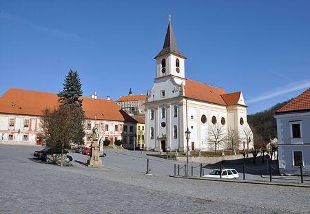 nad: city Namest nad Oslavou, Czech Republic, Europe Editorial
