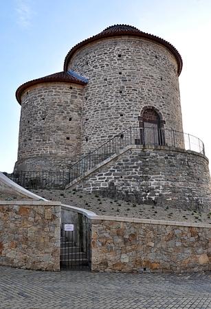 romanesque: Romanesque rotunda, city Znojmo, Czech Republic