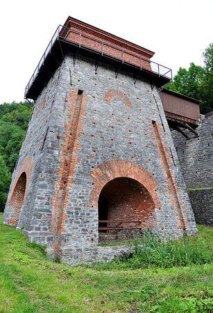 smelter: the old smelter, Adamov, Czech Republic