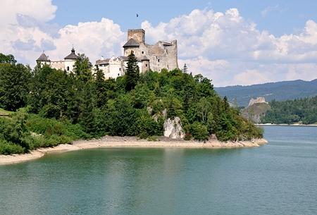 castles needle: Niedzica Castle, Poland, Europe Editorial