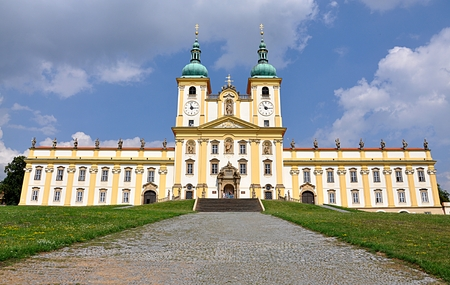 Klooster, de stad Olomouc, Moravië, Tsjechische Republiek, Europa