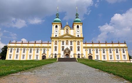 olomouc: Monastery, the town of Olomouc, Moravia, Czech Republic, Europe Editorial