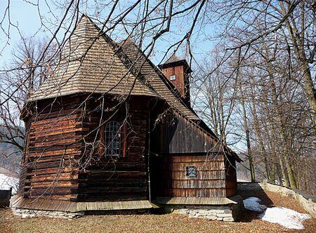 moravia: Wooden churches, landscape Jesenik, Moravia, Czech Republic, Europe