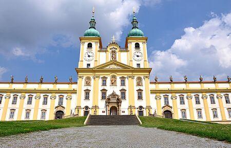 olomouc: Catholic monastery, the town of Olomouc, Moravia, Czech Republic, Europe