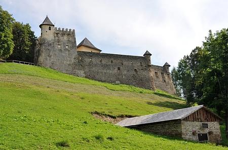 castles needle: old castle and park, Stara Lubovna, Slovakia, Europe