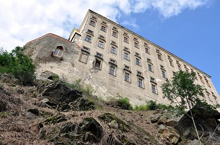 moravia: castle Plumlov, Czech republic,Moravia,Europe