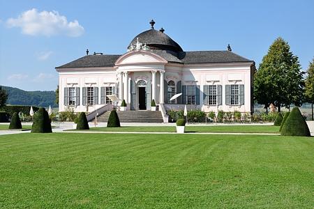 Schloss in Österreich Standard-Bild - 87142384