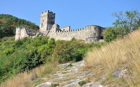 Burgruine, Dorf Spitz, Österreich Standard-Bild - 87142386