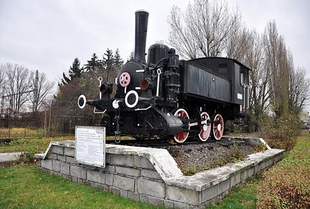 Alte Lokomotive Standard-Bild - 87196668