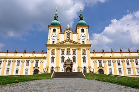 Barocke Kloster, Stadt Olomouc, Tschechische Republik, Europa Standard-Bild - 87374269