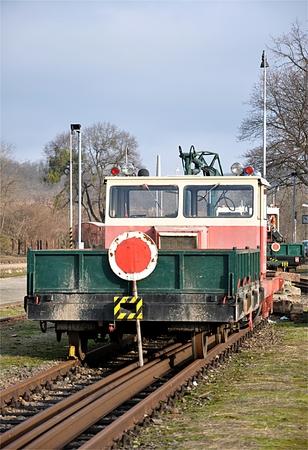 Eisenbahnwagen Standard-Bild - 87374271