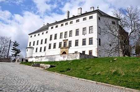 Alte Burg, Usow, Tschechische Republik, Europa Standard-Bild - 89299075
