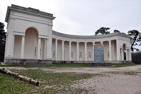old palace and park Valtice, Czech republic, Europe Standard-Bild - 104683810