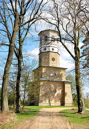 old tower in nature Babylon,Czech republic, Europe Standard-Bild - 104683812