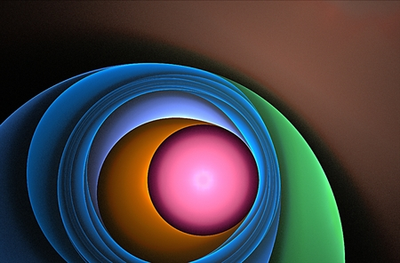 colors nice backgroud and fractal Standard-Bild - 114942468