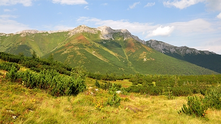 mountain High Tatras, Slovakia, Europe Standard-Bild - 114942469