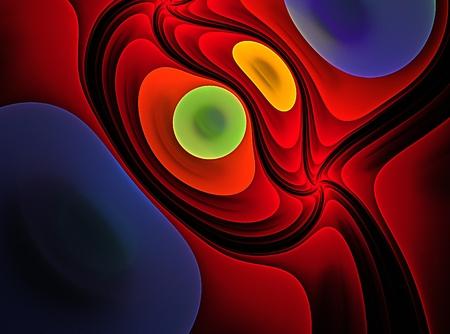 decorative fractal and backround Standard-Bild - 114942476