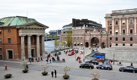 city Stockholm, Sweden, Europe Standard-Bild - 114942482